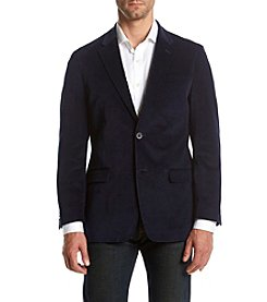 Tommy Hilfiger Men's Navy Velvet Sport Coat