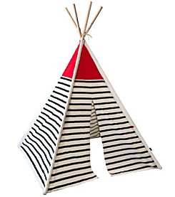 FAO Schwarz Toy Teepee Canvas Tent