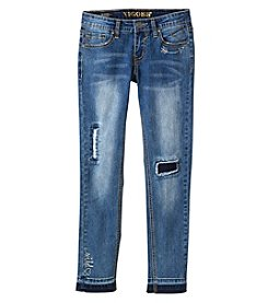 Vigoss® Girls' 7-16 Note My Feelings Skinny Jeans