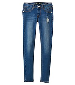Vigoss® Girls' 7-16 Rips Repair Skinny Jeans