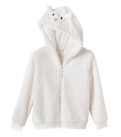 Carter's Girls' 4-8 Faux Sherpa Cat Ears Hoodie
