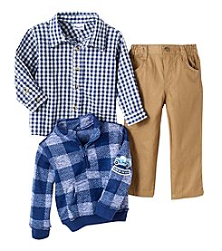 Nannette Boys' 2T-4T Knit Pullover And Pants Set