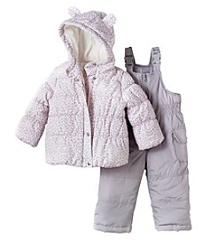 Carter's Baby Girls' Coat and Snowbib Pants