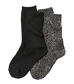 Relativity® Knit Crew Socks