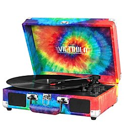 Victrola™ Bluetooth® Suitcase Record Player with 3-Speed Turntable