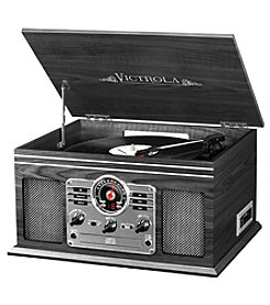 Victrola™ 6-in-1 Nostalgic Bluetooth® Record Player with 3-Speed Turntable