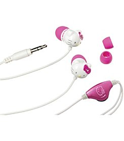 Hello Kitty Earbuds with Volume Control