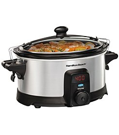 Hamilton Beach® IntelliTime 6-qt. Slow Cooker