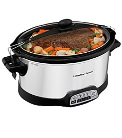 Hamilton Beach® Programmable Stay or Go 7-qt. Slow Cooker