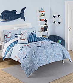 Waverly® Kids Ride the Waves Reversible Comforter Collection