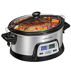 Hamilton Beach® Programmable FlexCook™ Slow Cooker