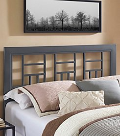 W. Designs Queen Size Metal Square Headboard