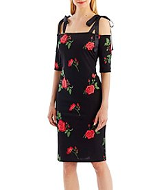 Nicole Miller New York Embroidered Dress