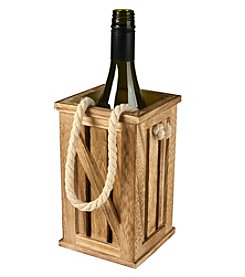 Artland® Home Mixology Wine Bottle Tote with Rope Handle