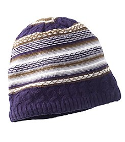 John Bartlett Statements Stripe Knit Beanie
