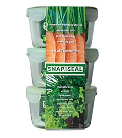 Artland® Snap & Seal Set of 3 Round Storage