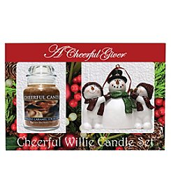 A Cheerful Giver Praline Caramel Sticky Bun Candle Set