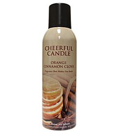 Cheerful Candle Orange Cinnamon Clove Room Spray