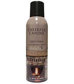 Cheerful Candle Cozy Cabin Room Spray