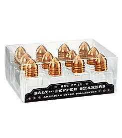 Artland® American Diner 12-Pack Salt & Pepper