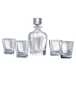 Artland® Glacier 5-Piece Whiskey Set