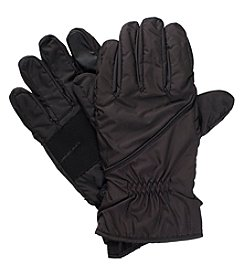 Isotoner Signature Men's Sleekheat Pieced Gloves