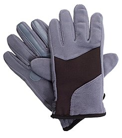 Isotoner Signature Men's Modern Shape Fleece Gloves