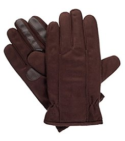 Isotoner Signature Men's Microfiber Gloves