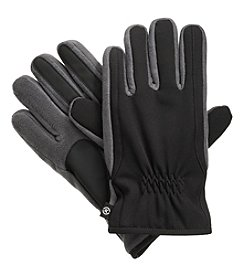 Isotoner Signature Men's Ultra Dry Stretch Gloves