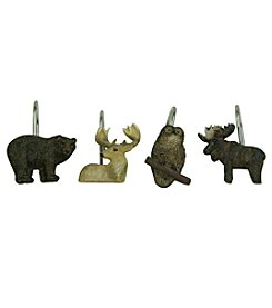 Bacova™ Guild Tetons Shower Curtain Hooks
