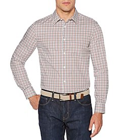 Perry Ellis® Men's Long Sleeve Check Button Down