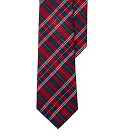 Lauren Ralph Lauren Plaid Silk-Wool Tie