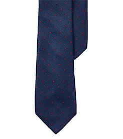Lauren Ralph Lauren Pin Dot Silk-Wool Tie