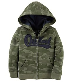 Oshkosh B'Gosh Boys' 4-7 Heritage Fleece Camo Hoodie