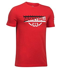 Under Armour® Boys' 8-20 Baseline Graphic Tee