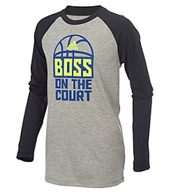 adidas® Boys' 2T-7 Boss On The Court Tee