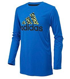 adidas® Boys' 5-12 Badge of Sport Tee