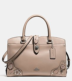 COACH MERCER SATCHEL 30 WITH TEA ROSE TOOLING