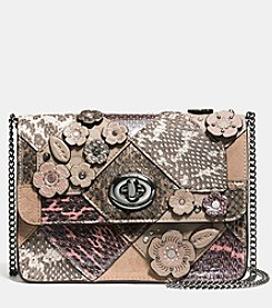 COACH BOWERY CROSSBODY IN PATCHWORK SNAKE