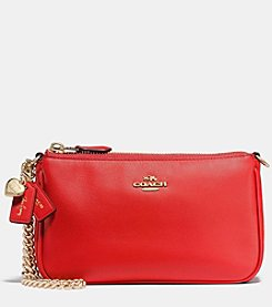 COACH SELENA GOMEZ WRISTLET IN MIXED LEATHERS