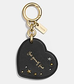COACH SELENA GOMEZ HEART BAG CHARM