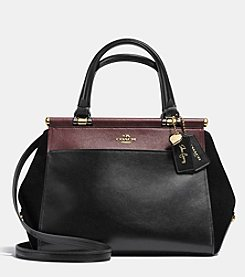 COACH SELENA GOMEZ GRACE BAG IN MIXED LEATHERS