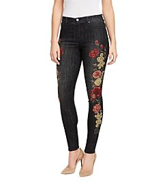 Bandolino Lisbeth Romantic Flower Embroidery Jeans