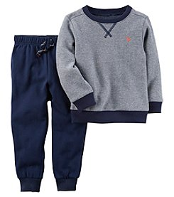 Carter's Boys' 3M-24M 2 Piece Long Sleeve Top And Pants Set