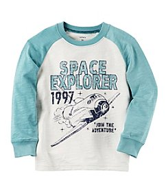 Carter's Boys' 2T-8 Long Sleeve Space Explorer Tee