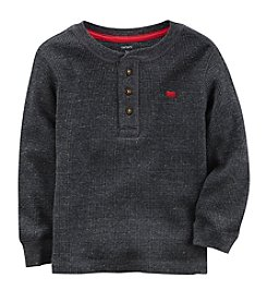 Carter's Boys' 4-8 Long Sleeve Henley Top