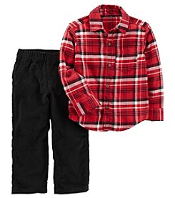 Carter's Boys' 2T-4T 2 Piece Long Sleeve Top And Pants Set
