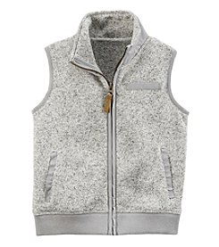 Carter's Boys' 3T-8 Zip Up Sweater Vest