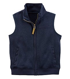 Carter's Boys' 2T-4T Zip Up Sweater Vest