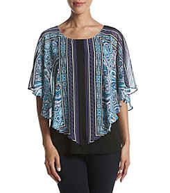 AGB Sheer Layered Top
